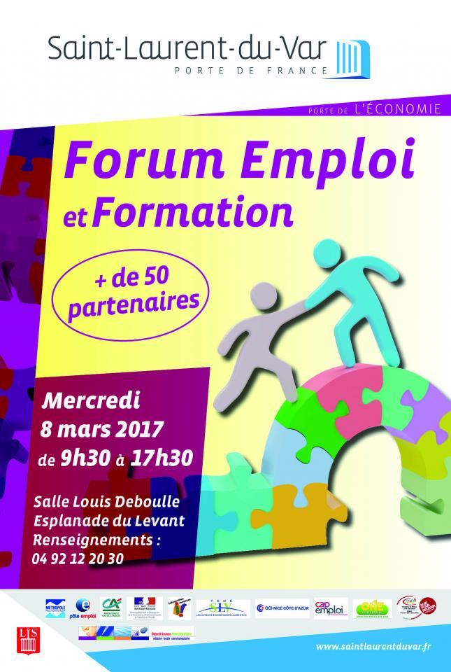 Forum Emploi Et Formation : 8 Mars | Saintlaurentduvar.Fr