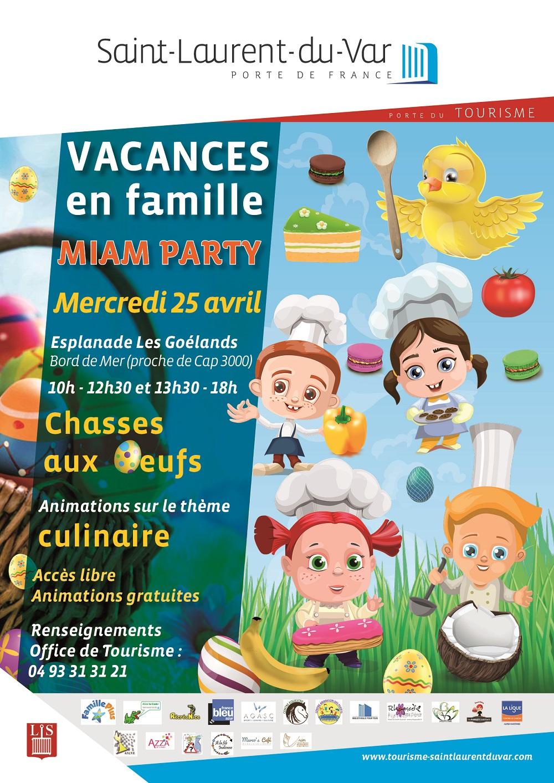 Vacances en famille rendez vous pour une folle miam - Office de tourisme saint laurent du var ...