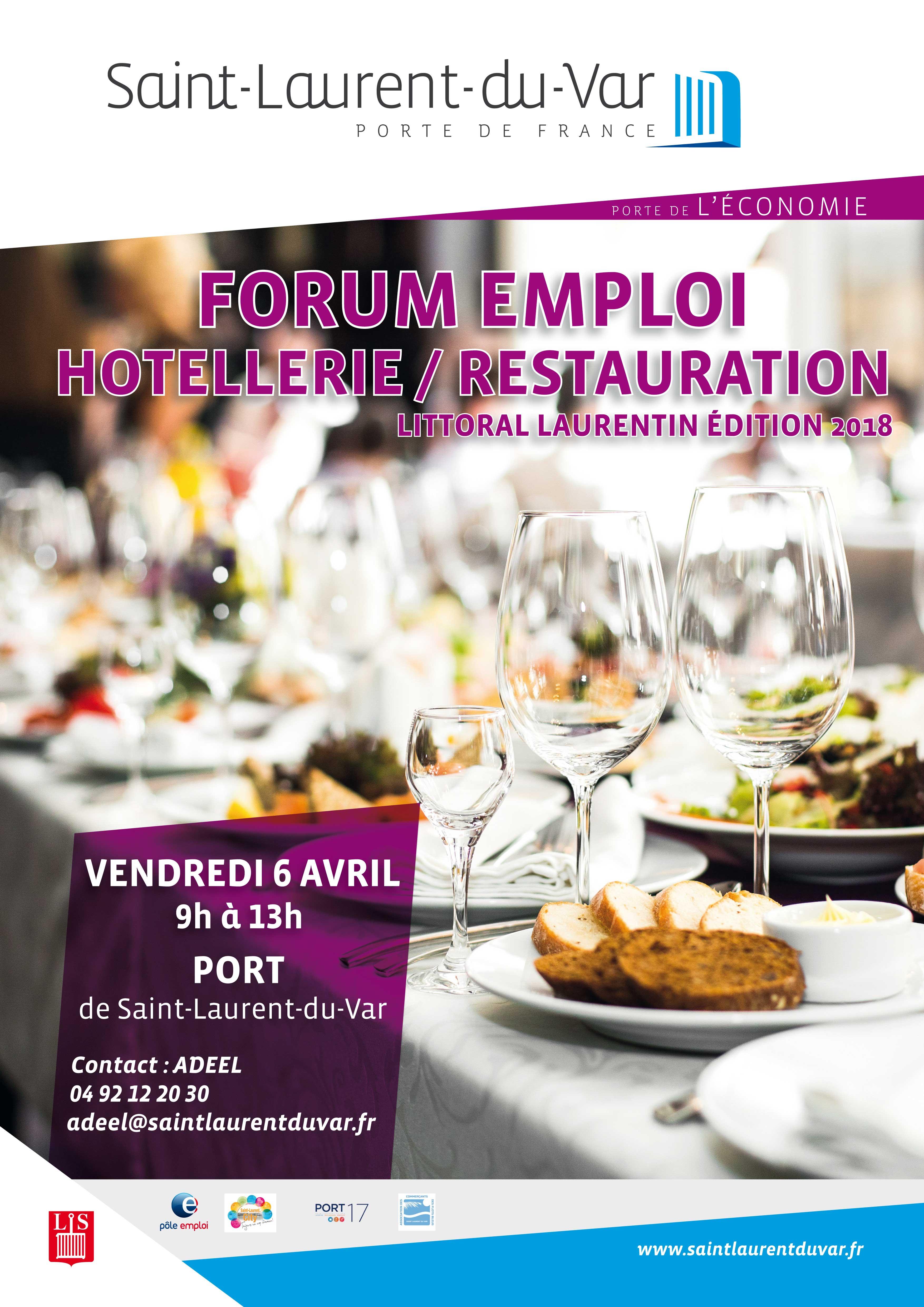Le forum emploi h tellerie restauration une quinzaine d for Restauration emploi