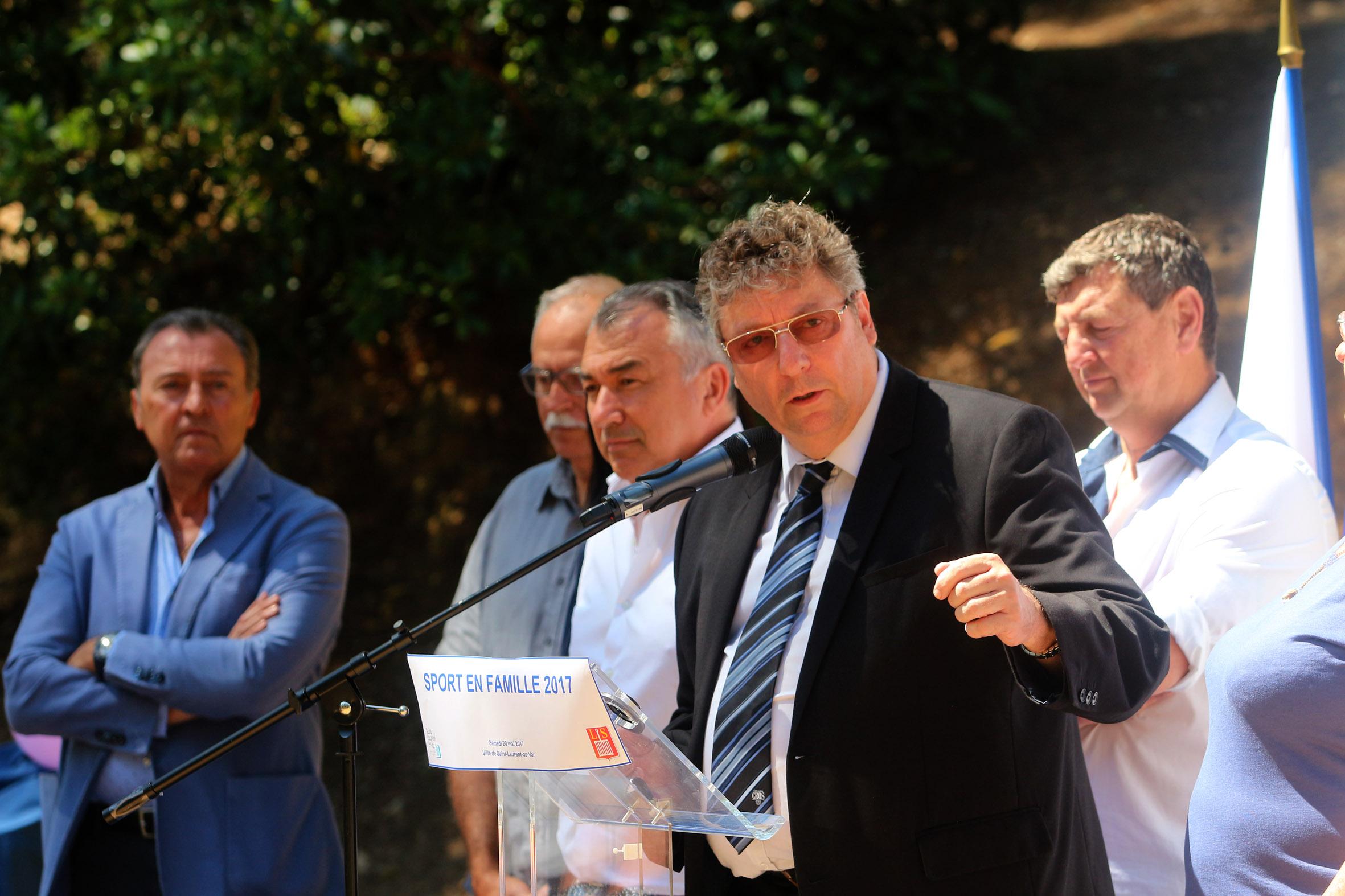 Patrick Collette, Vice-Président du Comité Régional Olympique et Sportif Côte d'Azur (CROS)