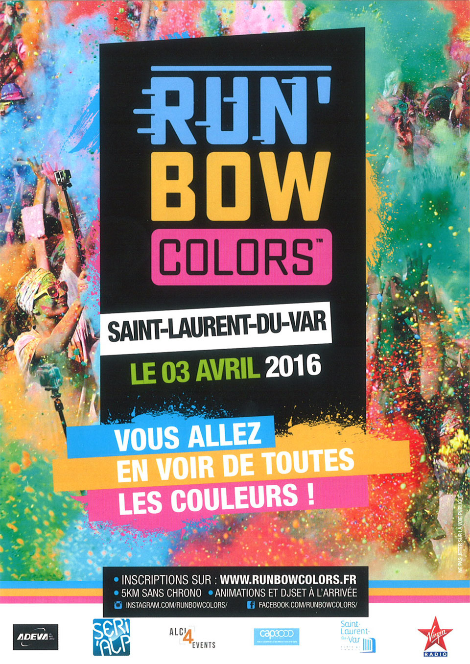 Run 39 bow colors saint laurent du var le 3 avril 2016 - Chambre des metiers st laurent du var horaire ...