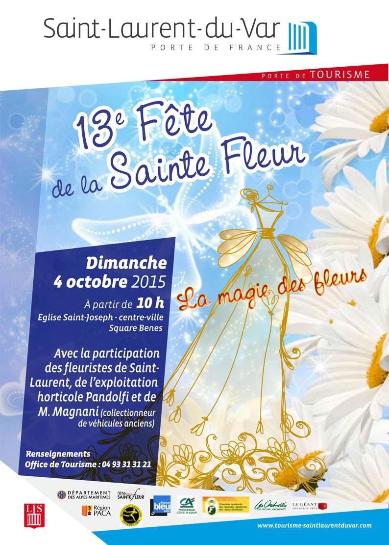 Vernissage projet ecole f te de la sainte fleur - Office tourisme saint laurent du var ...