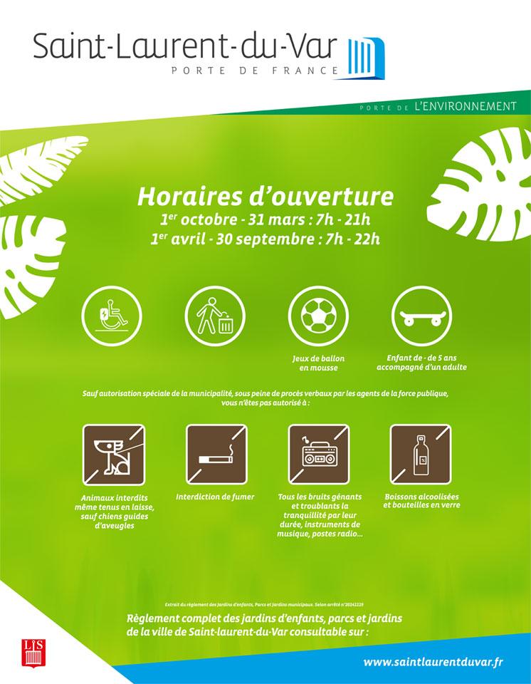 Parcs laurentins nouveaux panneaux d indication des - Office de tourisme saint laurent du var ...