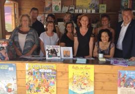 Jusqu'au 31 juillet, une cabane à livres est installée sur l'Esplanade des Goélands
