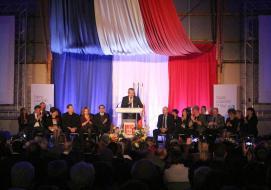 Joseph Segura entouré de ses élus