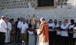 Procession avec Joseph Segura